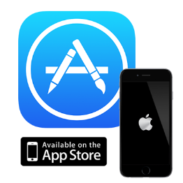 Apple app store button png — Mid-Michigan Library League